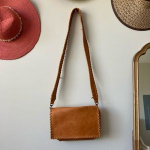Able unique crossbody fold over bag